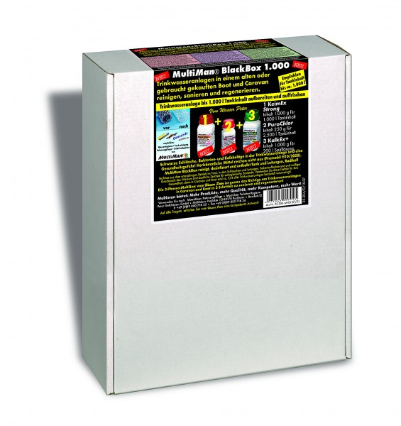 BlackBox 1000 für Trinkwassertanks bis 1000 l Inhalt