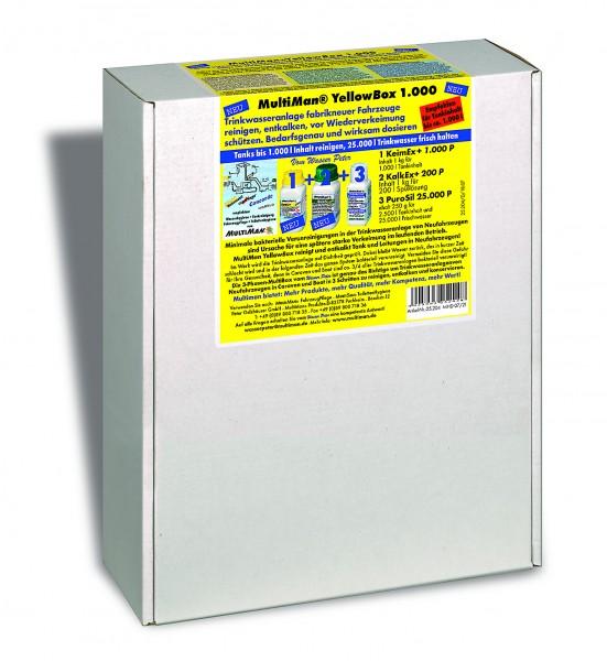 YellowBox 1000 für Trinkwassertanks bis 1000 l Inhalt