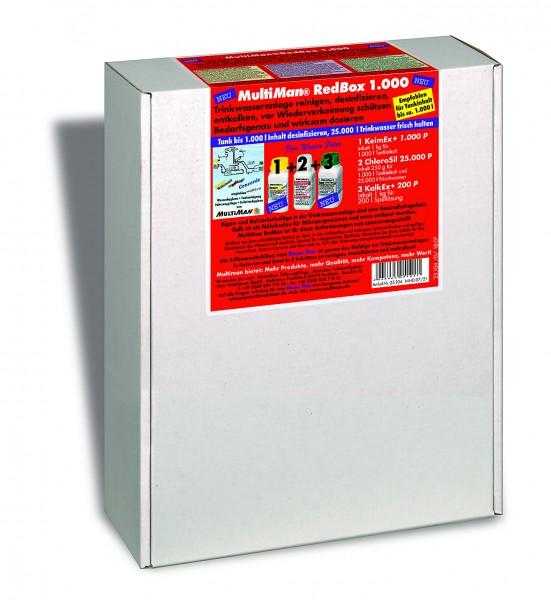 RedBox 1000 für Trinkwassertanks bis 1000 l Inhalt