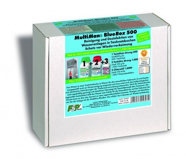 BlueBox 500 für Tanknotduschen bis 500 l Inhalt