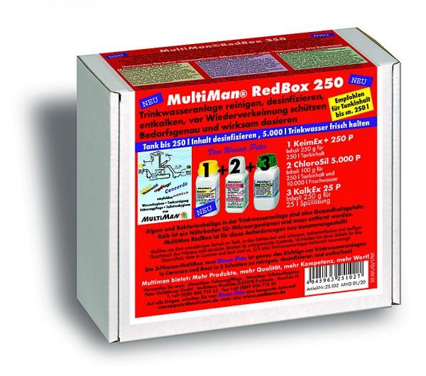 RedBox 250 für Trinkwassertanks bis 250 l Inhalt