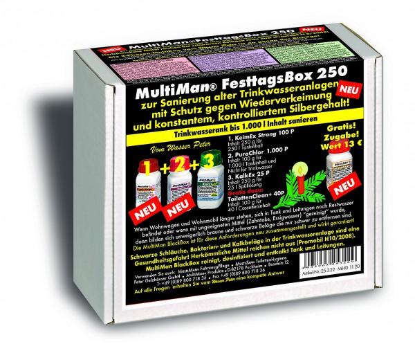 .FesttagsBlackBox 250 für Trinkwassertanks bis 250 l Inhalt