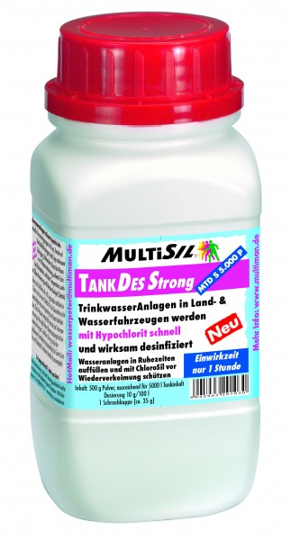 MultiSil® TankDes Strong 5.000 Pulver