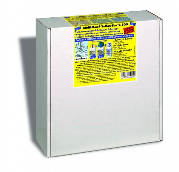 YellowBox 2500 für Trinkwassertanks bis 2500 l Inhalt