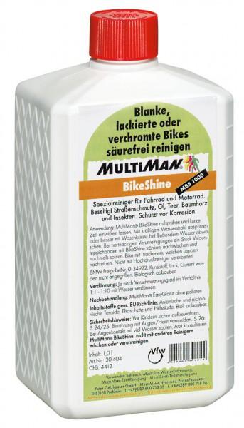 Ausrüstung_pflegen_MultiMan_BikeShine_1000_Vorratsflasche