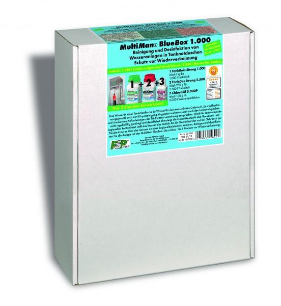 BlueBox 1000 für Tanknotduschen bis 1000 l Inhalt