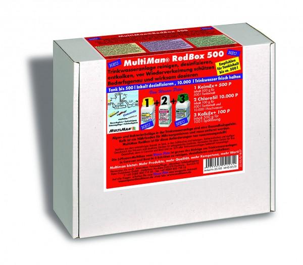 RedBox 500 für Trinkwassertanks bis 500 l Inhalt