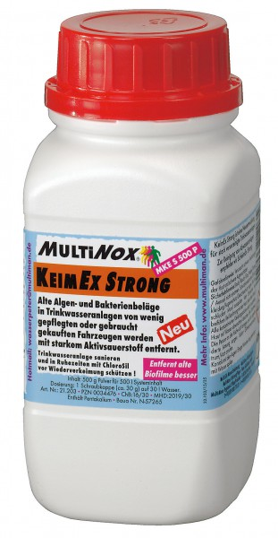 Wassertankreinigung_MultiNox_KeimEx_Strong_500_Pulver