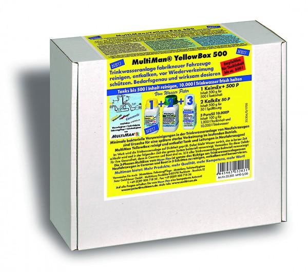 YellowBox 500 für Trinkwassertanks bis 500 l Inhalt