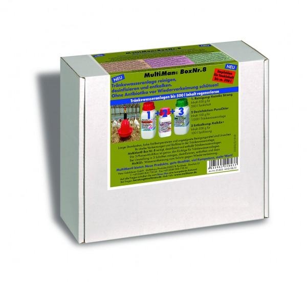 .MultiBox Nr. 8 PG 500 für Trinkwassertanks bis 500 l Inhalt