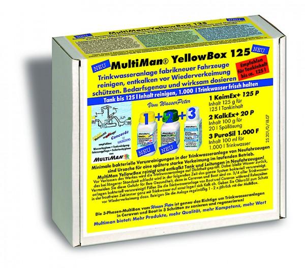 YellowBox 125 für Trinkwassertanks bis 125 l Inhalt