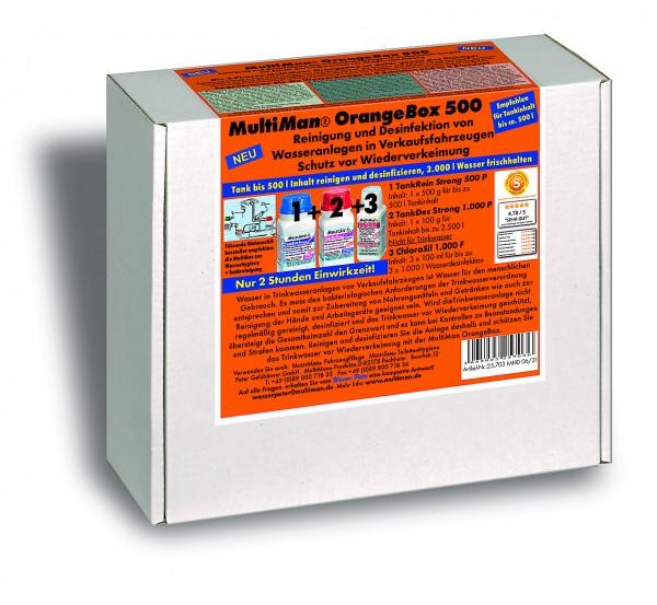 OrangeBox 500 für Trinkwassertanks bis 500 l Inhalt
