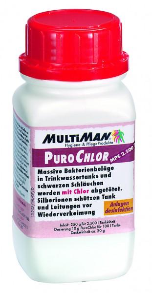 MultiMan® PuroChlor 2.500 Pulver