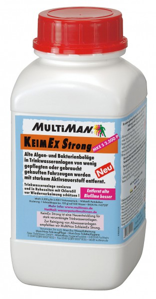 .KeimEx Strong 2.500 Pulver